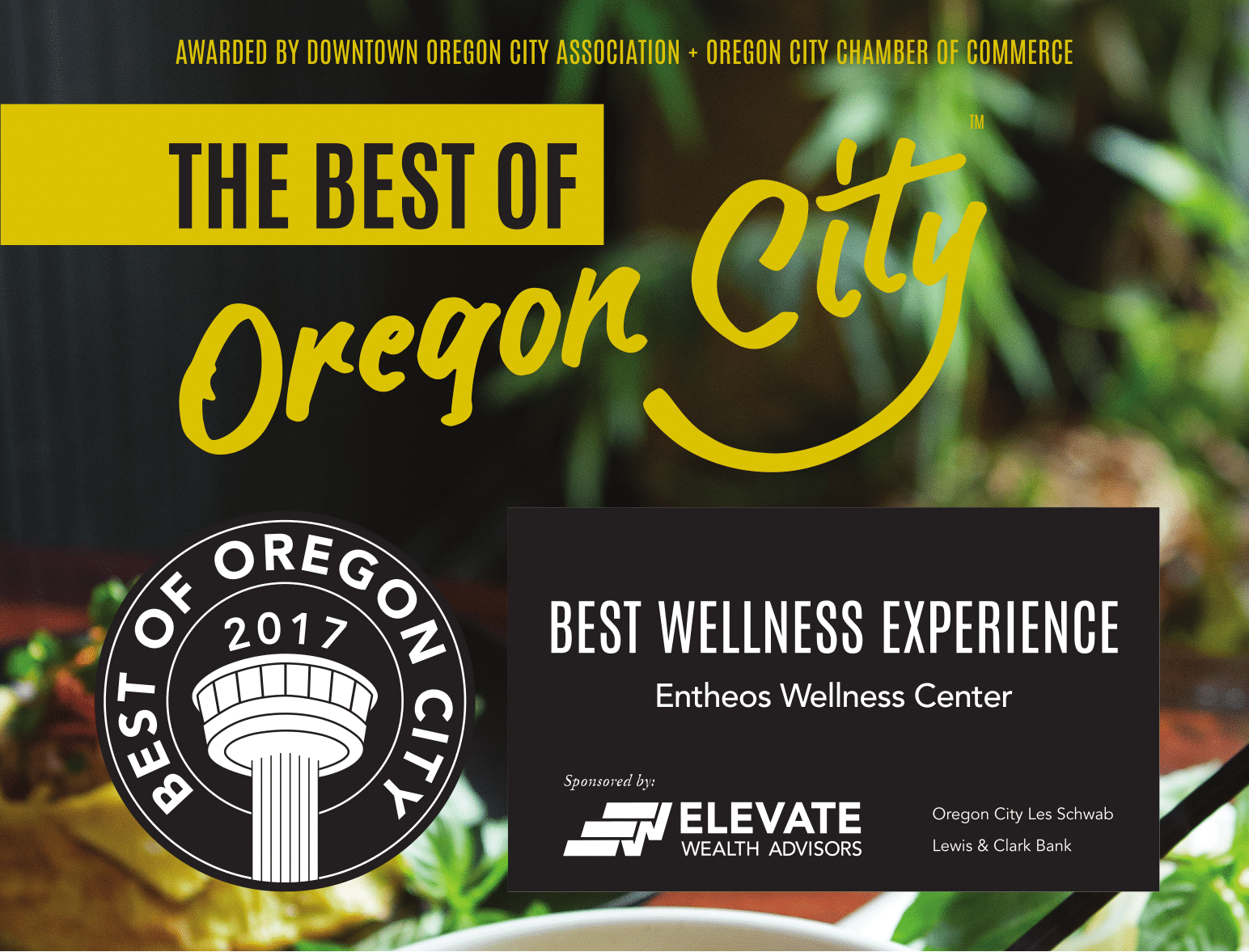 Best of Oregon City Award Winner